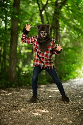 Click Here to buy Plus Size Werewolf Costume 2X 3X 4X 5X from HalloweenCostumes, CDN Funds