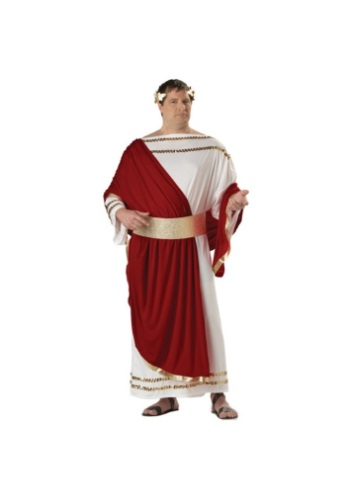 Plus Size Caesar Costume for Men