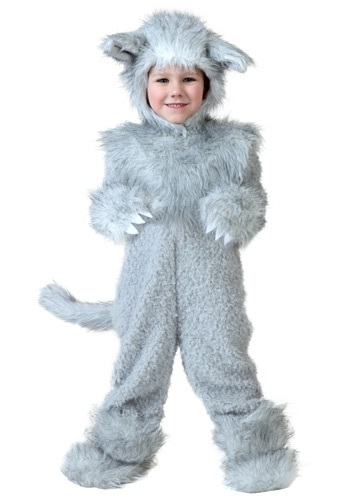 Toddler Wolf Costume (Toddler Wolf Costume)