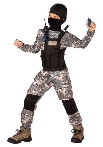 Click Here to buy Kids Navy Seal Costume from HalloweenCostumes, USA Funds & Shipping
