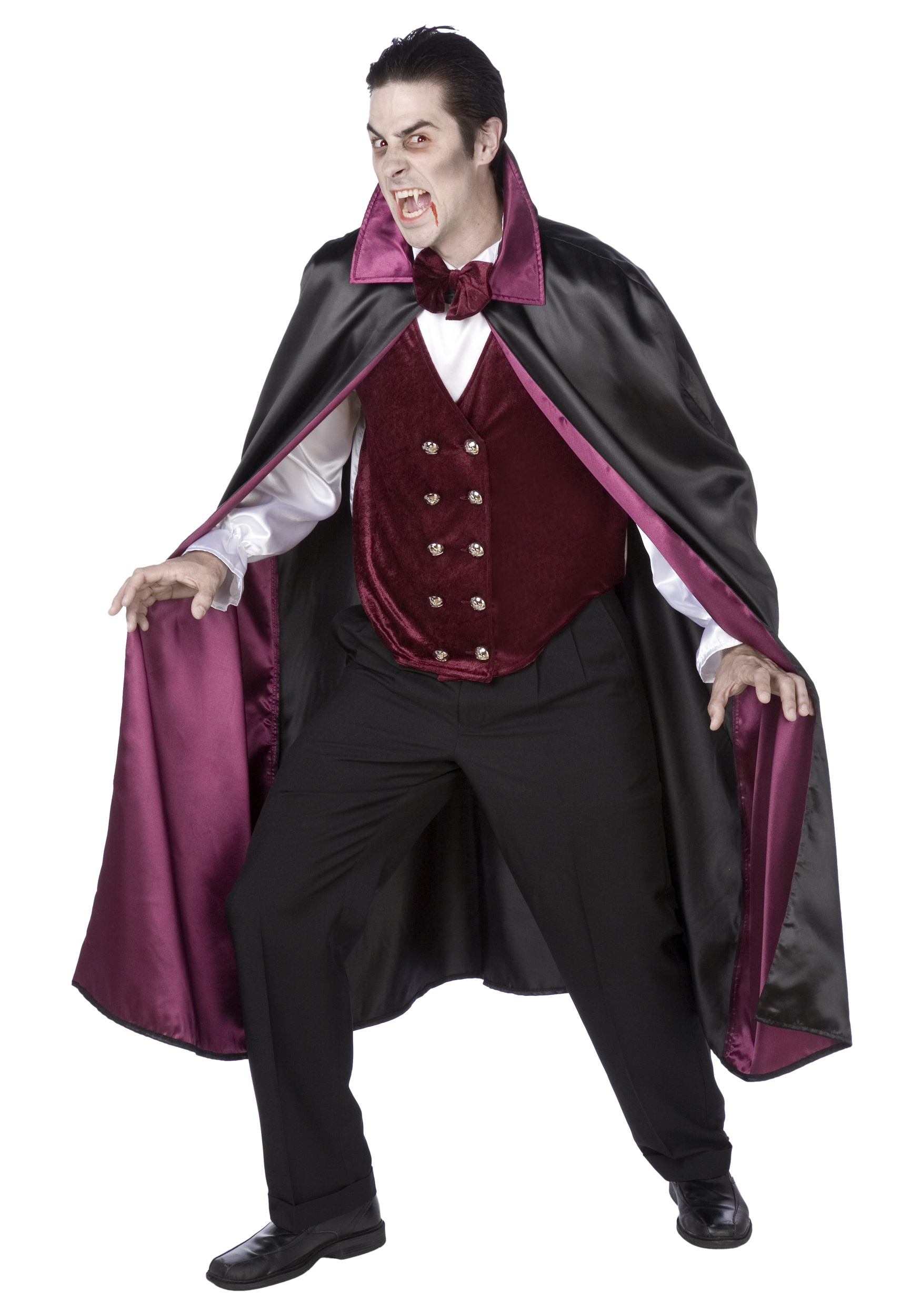 mens deluxe vampire costume. Black Bedroom Furniture Sets. Home Design Ideas