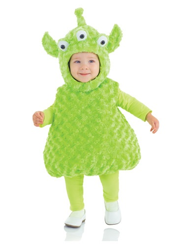 Click Here to buy Toddler Alien Costume from HalloweenCostumes, USA Funds & Shipping