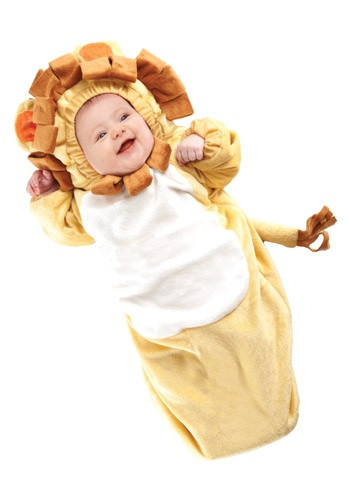 Click Here to buy Baby Lion Bunting from HalloweenCostumes, USA Funds & Shipping