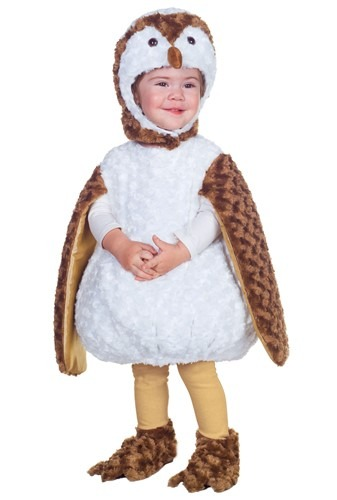 Toddler White Barn Owl Costume By: Underwraps for the 2015 Costume season.