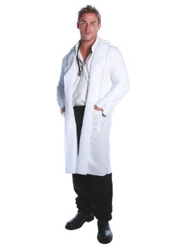 Plus Size Lab Coat