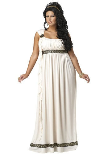 Plus Size Olympic Goddess Costume 1X 2X