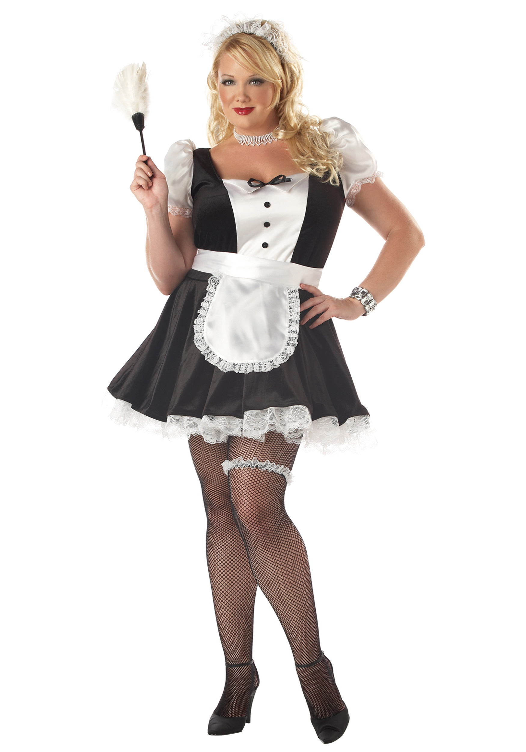 Maid Costume Plus Size Petticoat