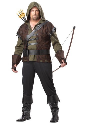 Plus Size Robin Hood Costume - Robin Hood Costumes for Adults By: California Costume Collection for the 2015 Costume season.
