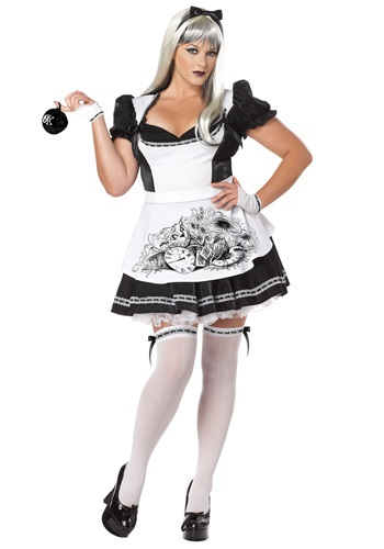 Plus Size Dark Alice Costume By: California Costume Collection for the 2015 Costume season.