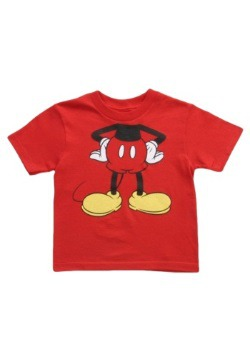Toddler Mickey Mouse Costume T-Shirt