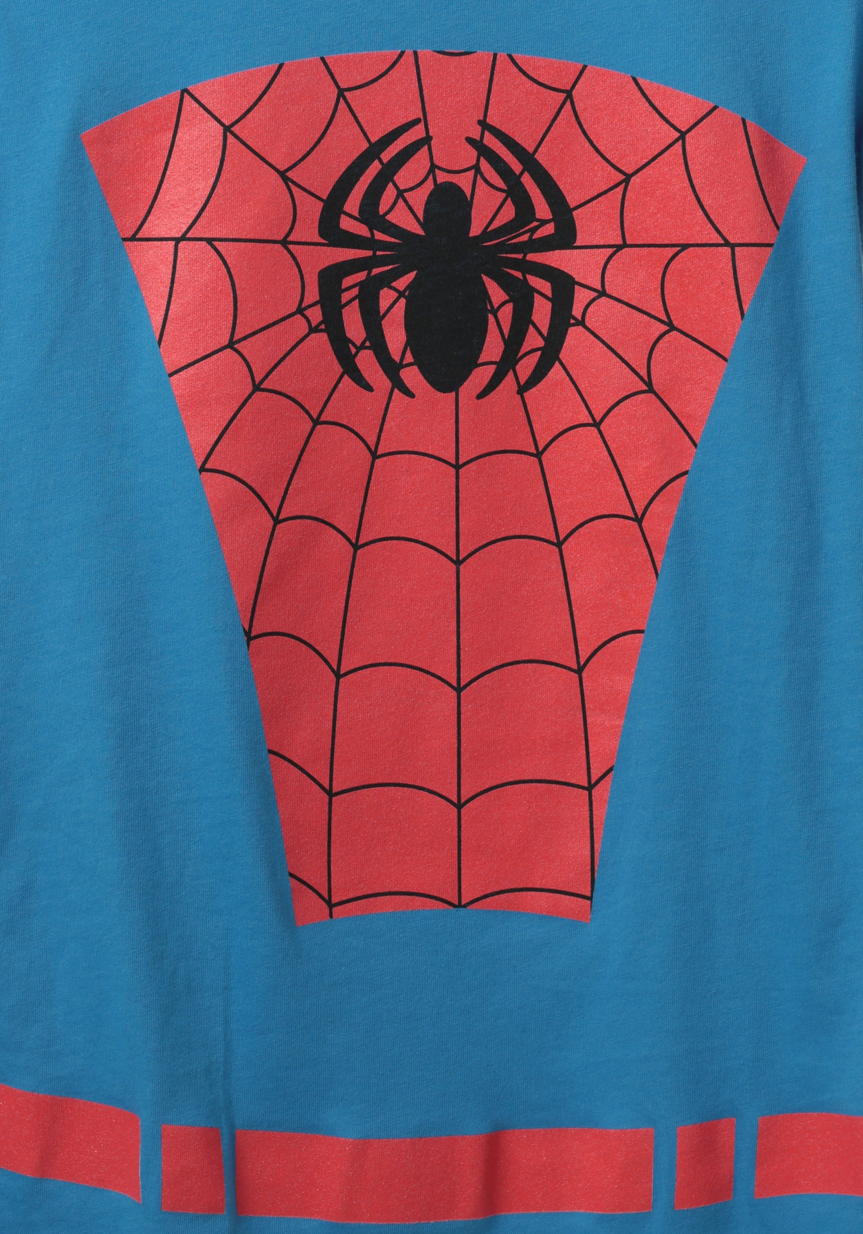 womens belted spider man costume tshirt. Black Bedroom Furniture Sets. Home Design Ideas