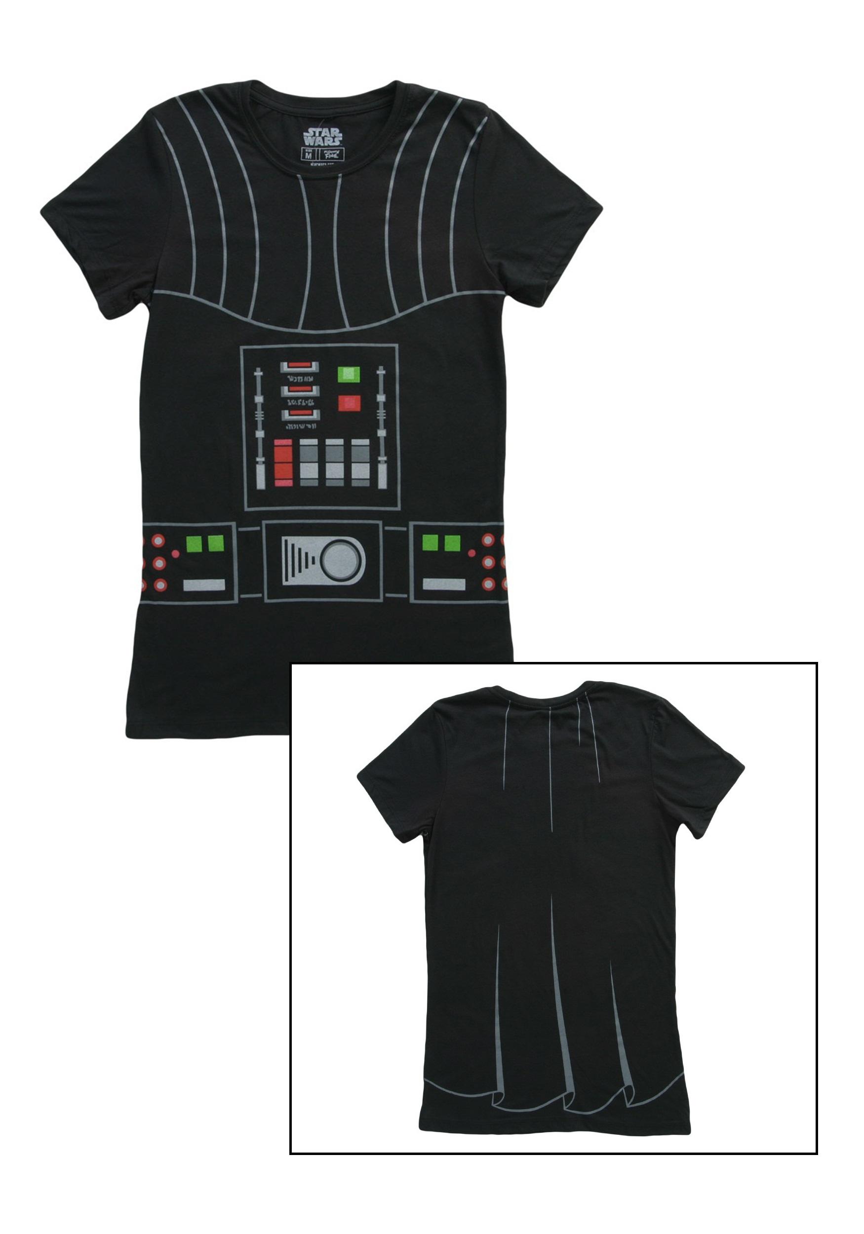 women 39 s i am darth vader costume tshirt. Black Bedroom Furniture Sets. Home Design Ideas
