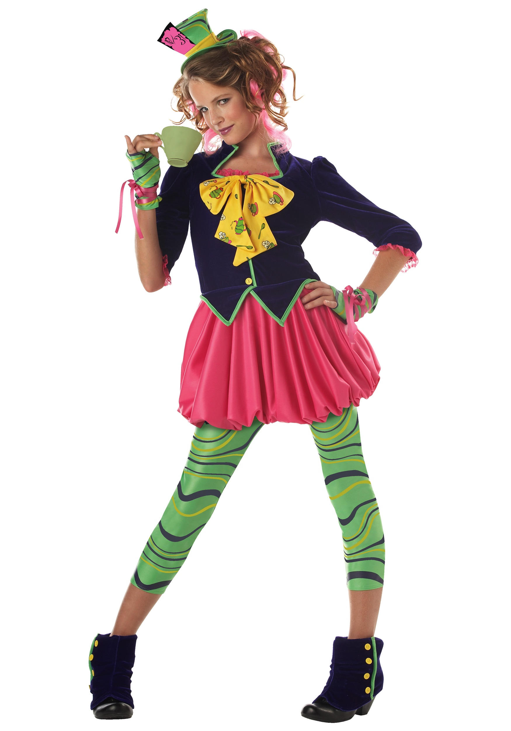 tween miss mad hatter costume - Mad Hatter Halloween Costume For Kids