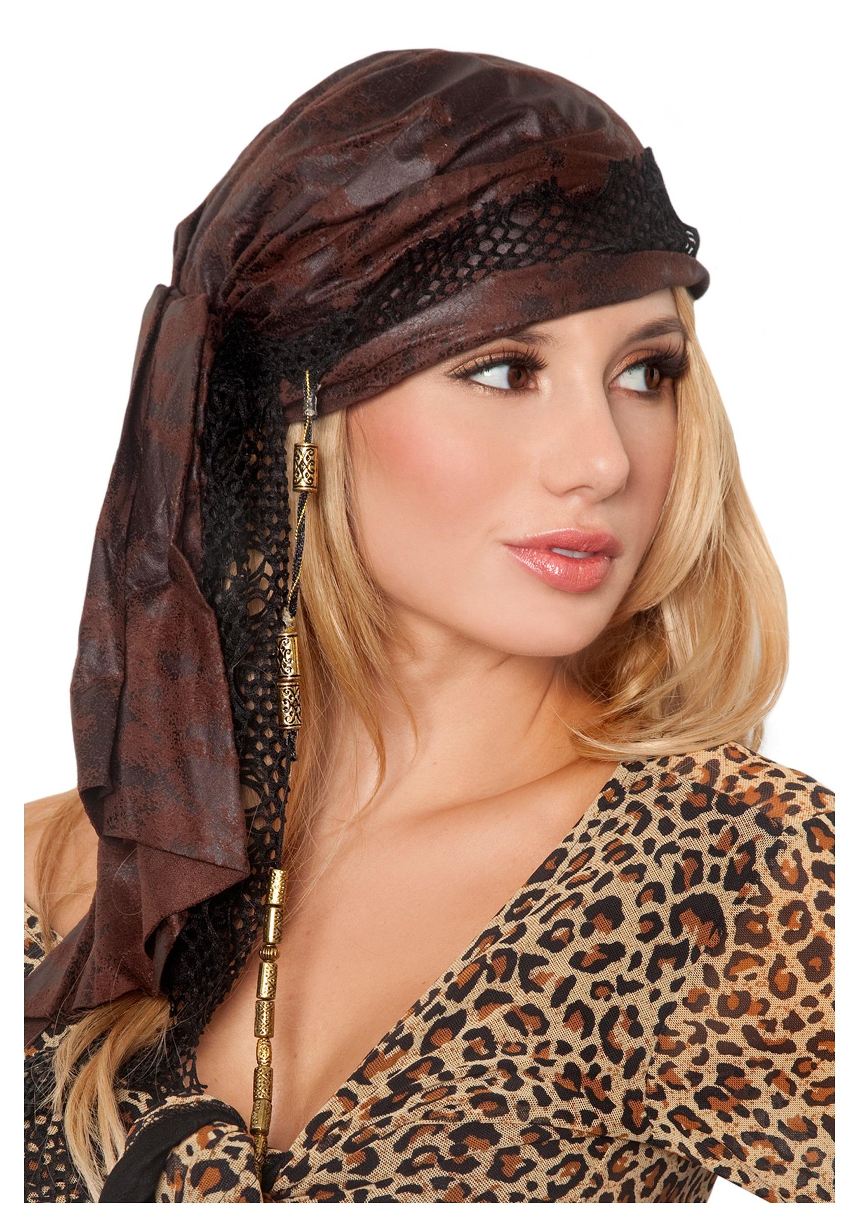 how to make a pirate head bandana