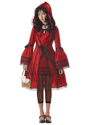 Click Here to buy Tween Strangeling Riding Hood Costume from HalloweenCostumes, CDN Funds