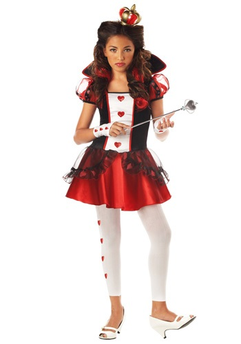 Click Here to buy Tween Queen of Hearts Costume from HalloweenCostumes, CDN Funds