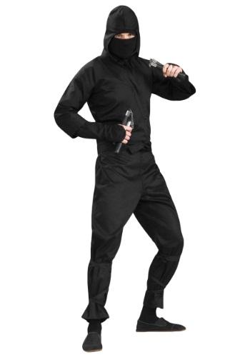 Plus Size Deluxe Ninja Costume