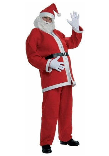[Plus Size Simply Santa Costume] (Plus Size Simply Santa Costumes)