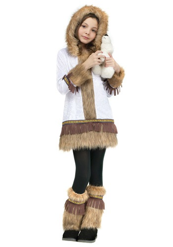Girls Eskimo Costume