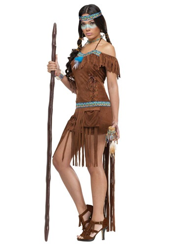 Click Here to buy Native American Healer Womens Costume from HalloweenCostumes, USA Funds & Shipping