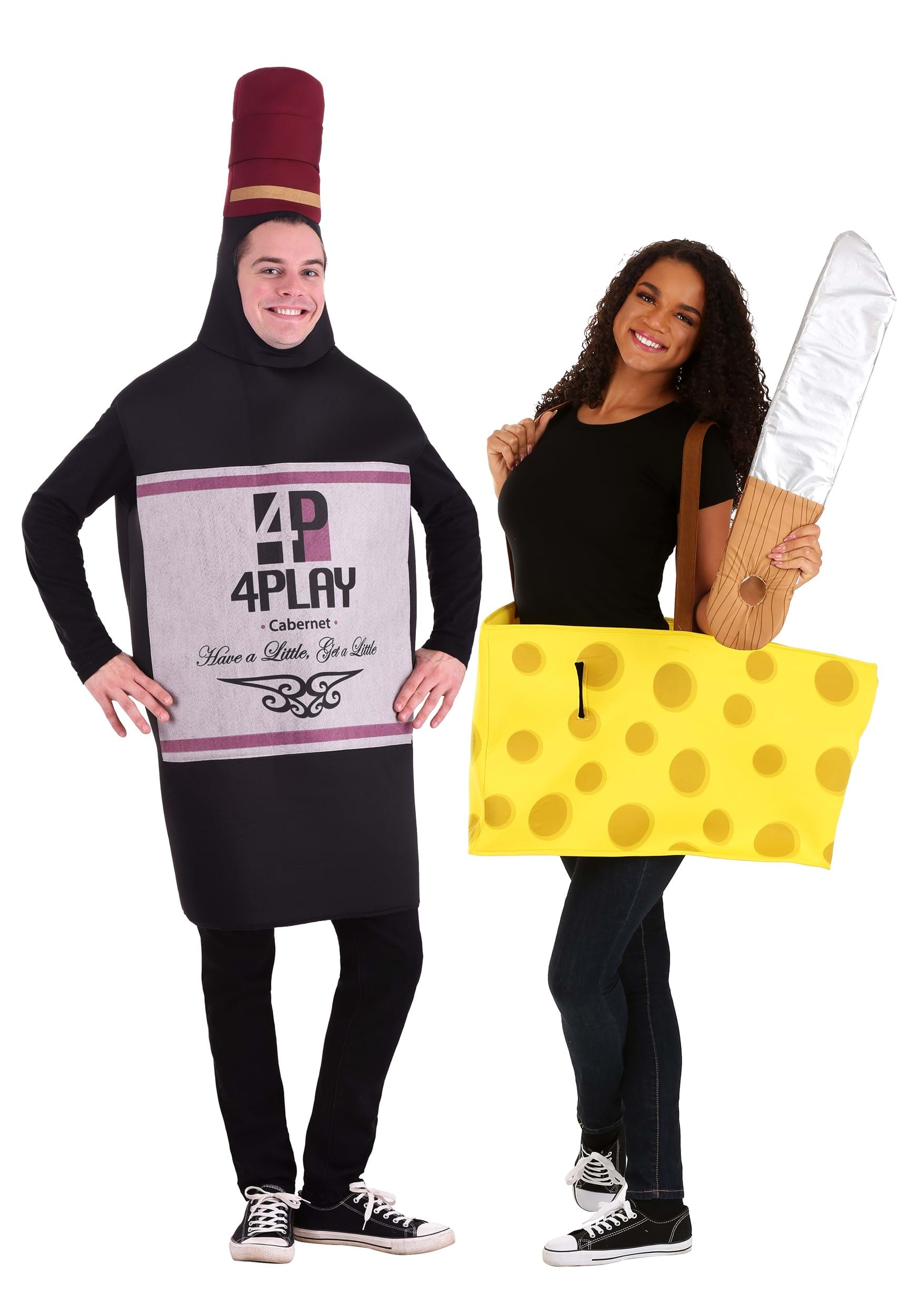 wine and cheese costume - Halloween Food Costume