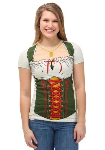 Womens Oktoberfest Fraulein T-Shirt Front