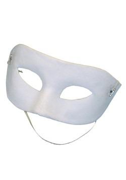 Blank White Eye Mask