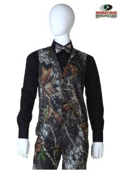 Mossy Oak Open Back Vest Front