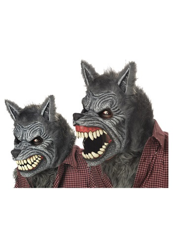 Grey Werewolf Ani Motion Mask