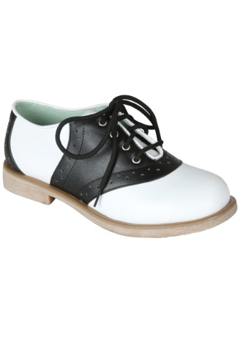 Click Here to buy Adult Saddle Shoes from HalloweenCostumes, CDN Funds