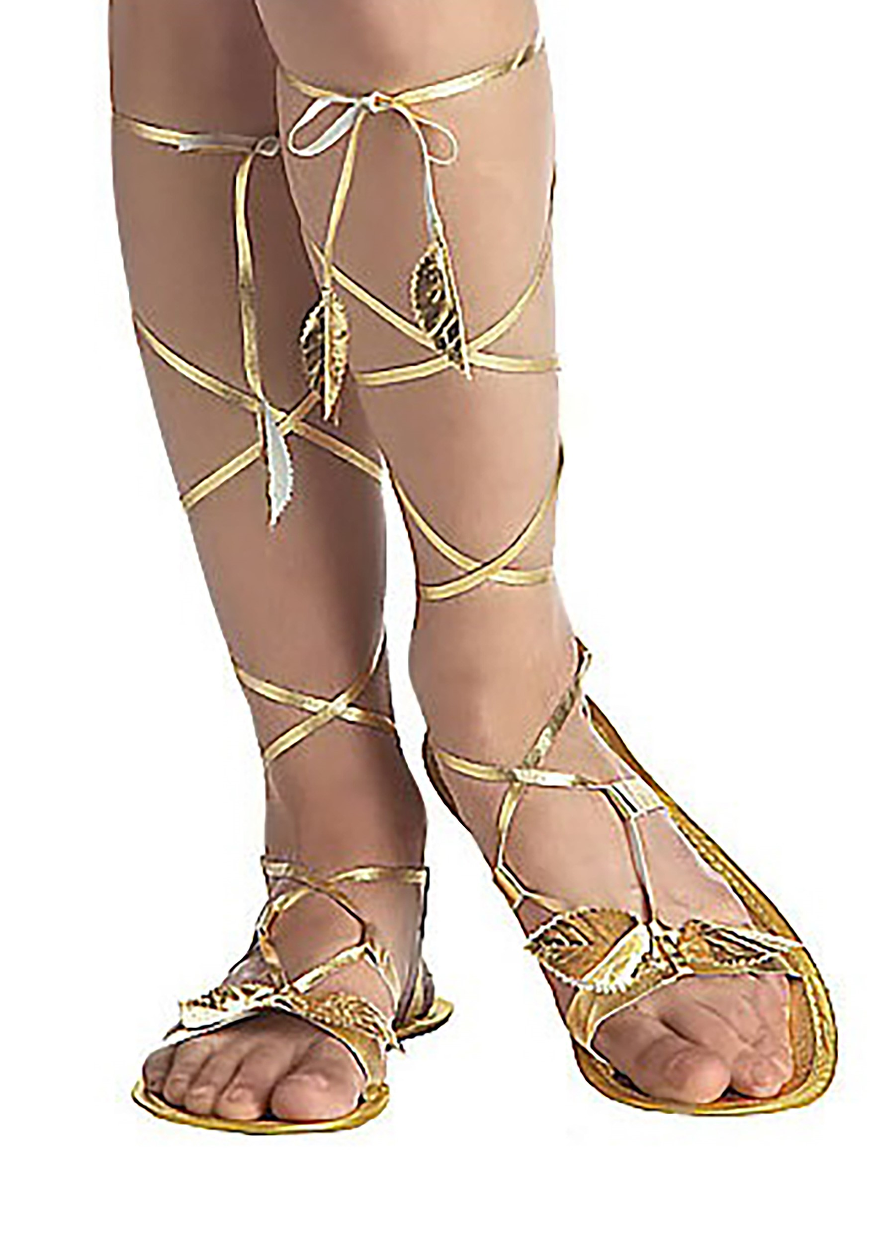 Adult Costume Accessory Goddess Sandals