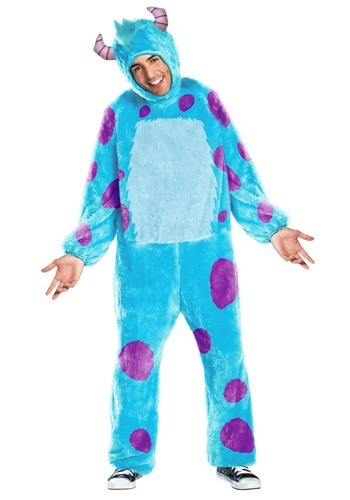 Click Here to buy Monsters Inc Sulley Adult Costume from HalloweenCostumes, USA Funds & Shipping