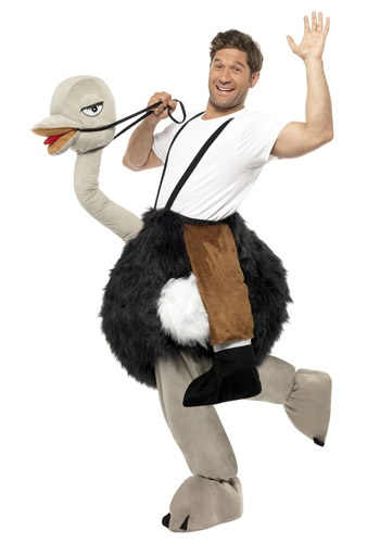 Ostrich Costume By: Smiffys for the 2015 Costume season.