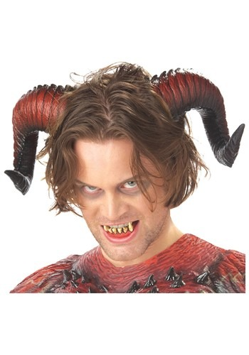 Devil Horns and Teeth By: California Costume Collection for the 2015 Costume season.