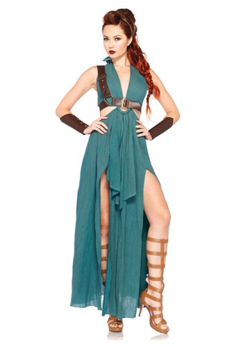 Click Here to buy Warrior Maiden Costume from HalloweenCostumes, USA Funds & Shipping