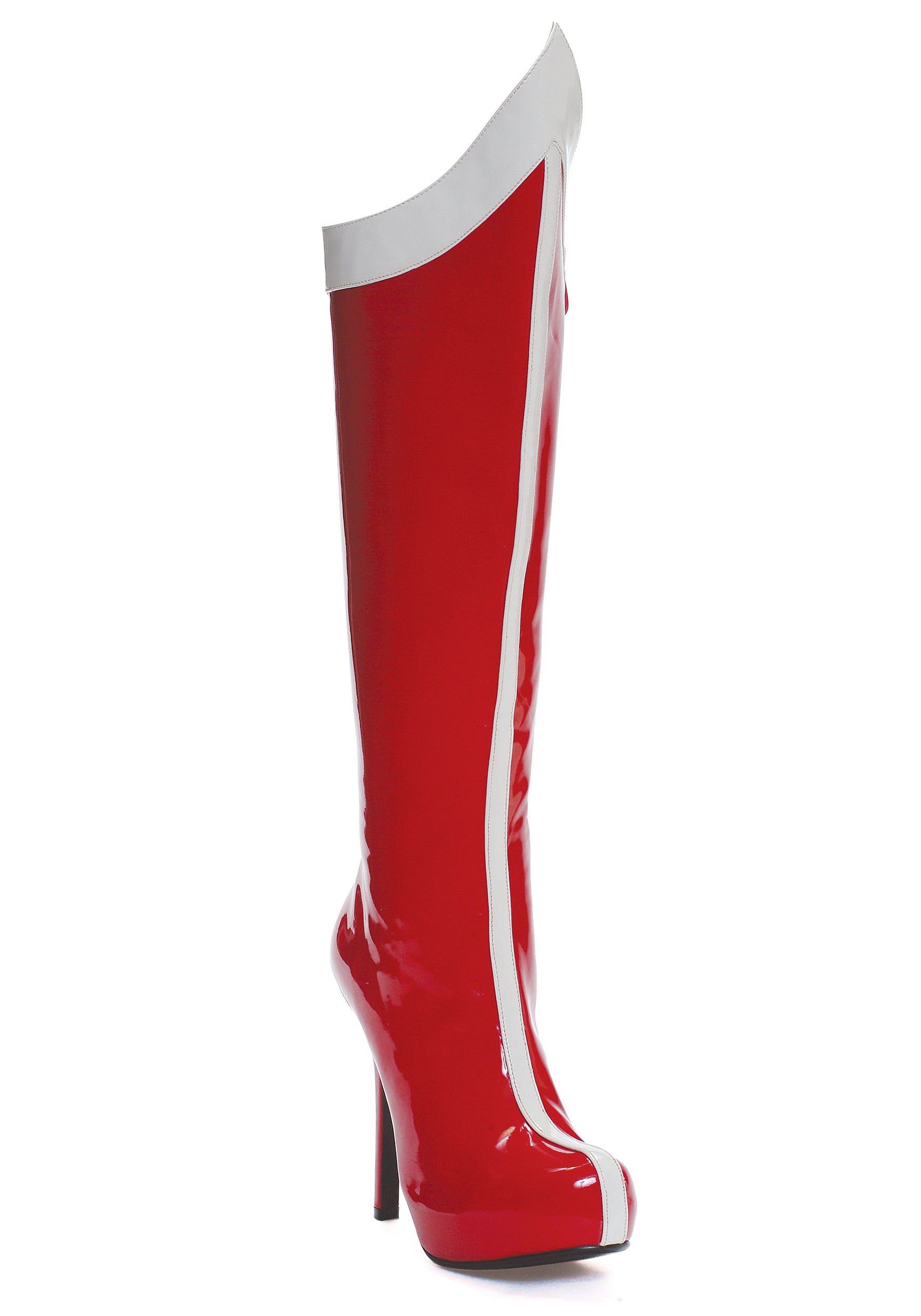 Red White Superhero Boots