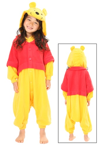 Kids Pooh Pajama Costume By: Sazac for the 2015 Costume season.