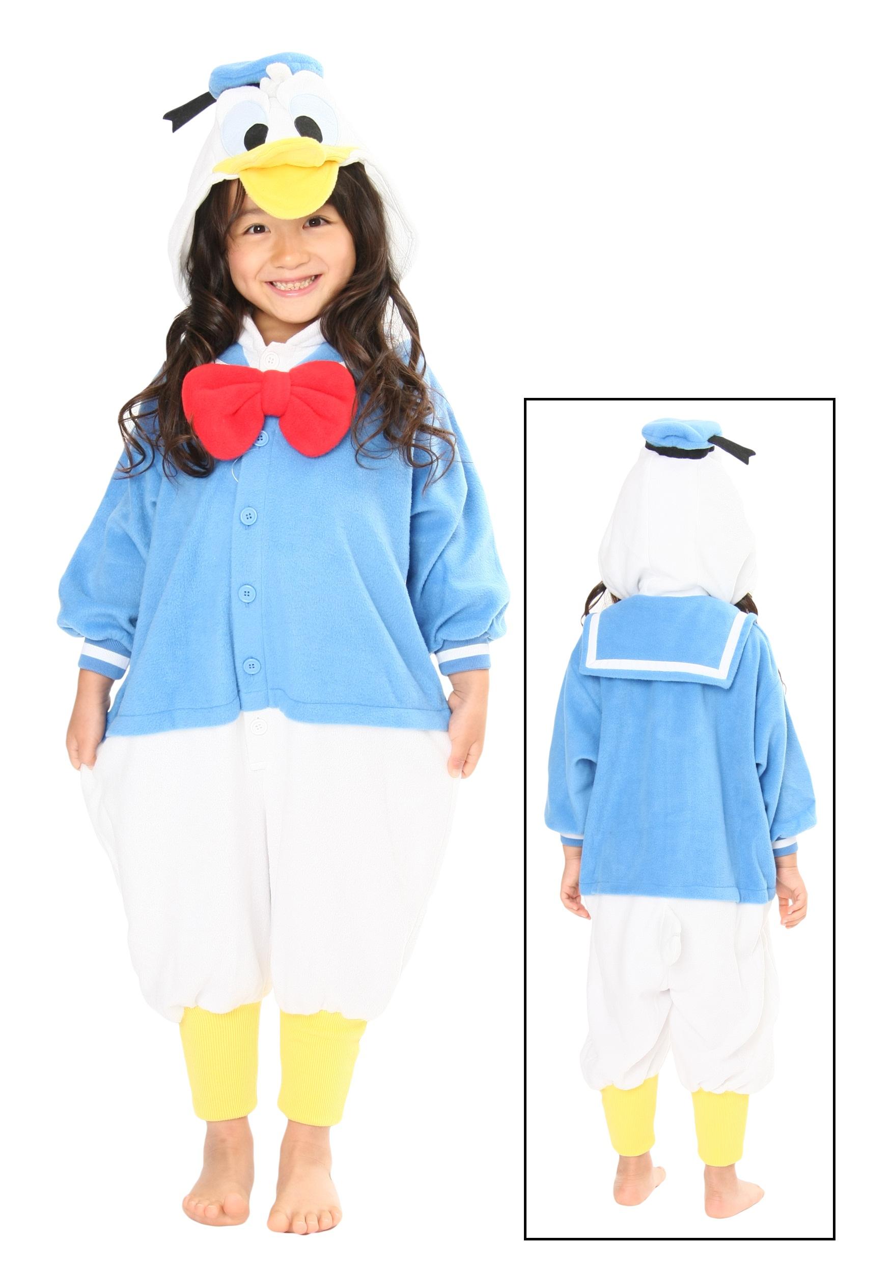 Kids Donald Duck Pajama Costume  Kids Donald Duc...