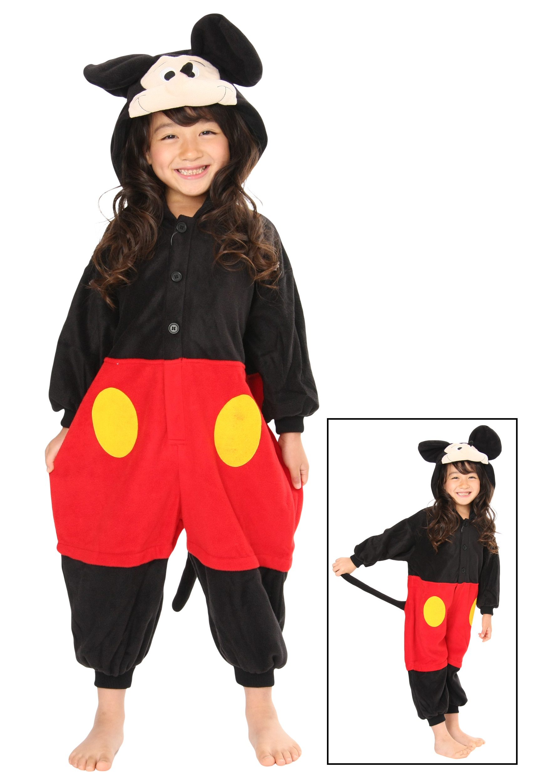 sc 1 st  Halloween Costumes & Kids Mickey Mouse Pajama Costume
