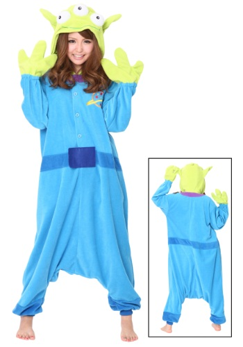 Click Here to buy Alien Pajama Costume from HalloweenCostumes, USA Funds & Shipping