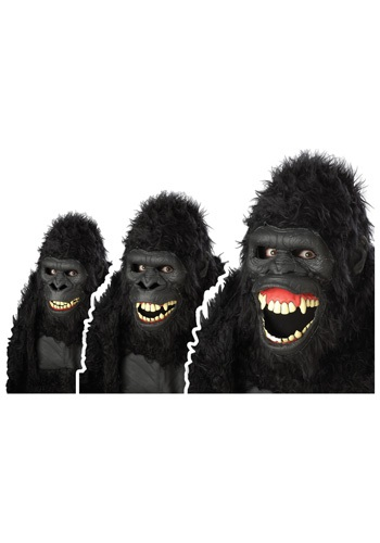Click Here to buy Goin Ape Gorilla Mask from HalloweenCostumes, CDN Funds