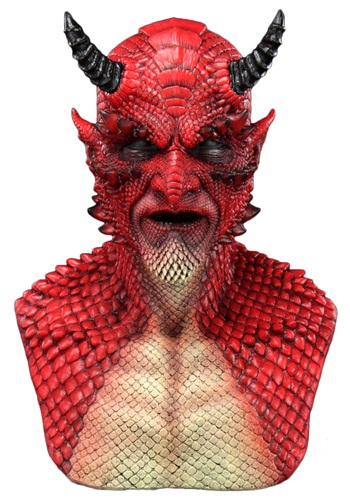 Click Here to buy Belial the Demon Red Mask from HalloweenCostumes, USA Funds & Shipping