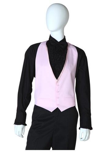 Pink Tuxedo Vest