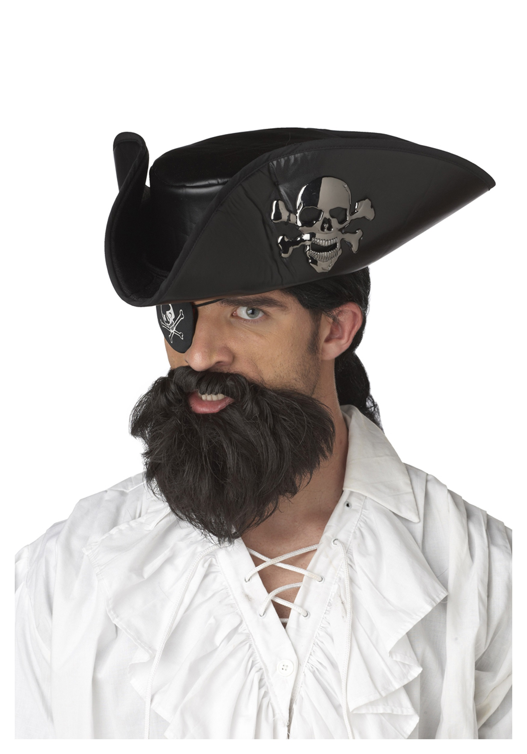 The Captains Beard Brown One Size