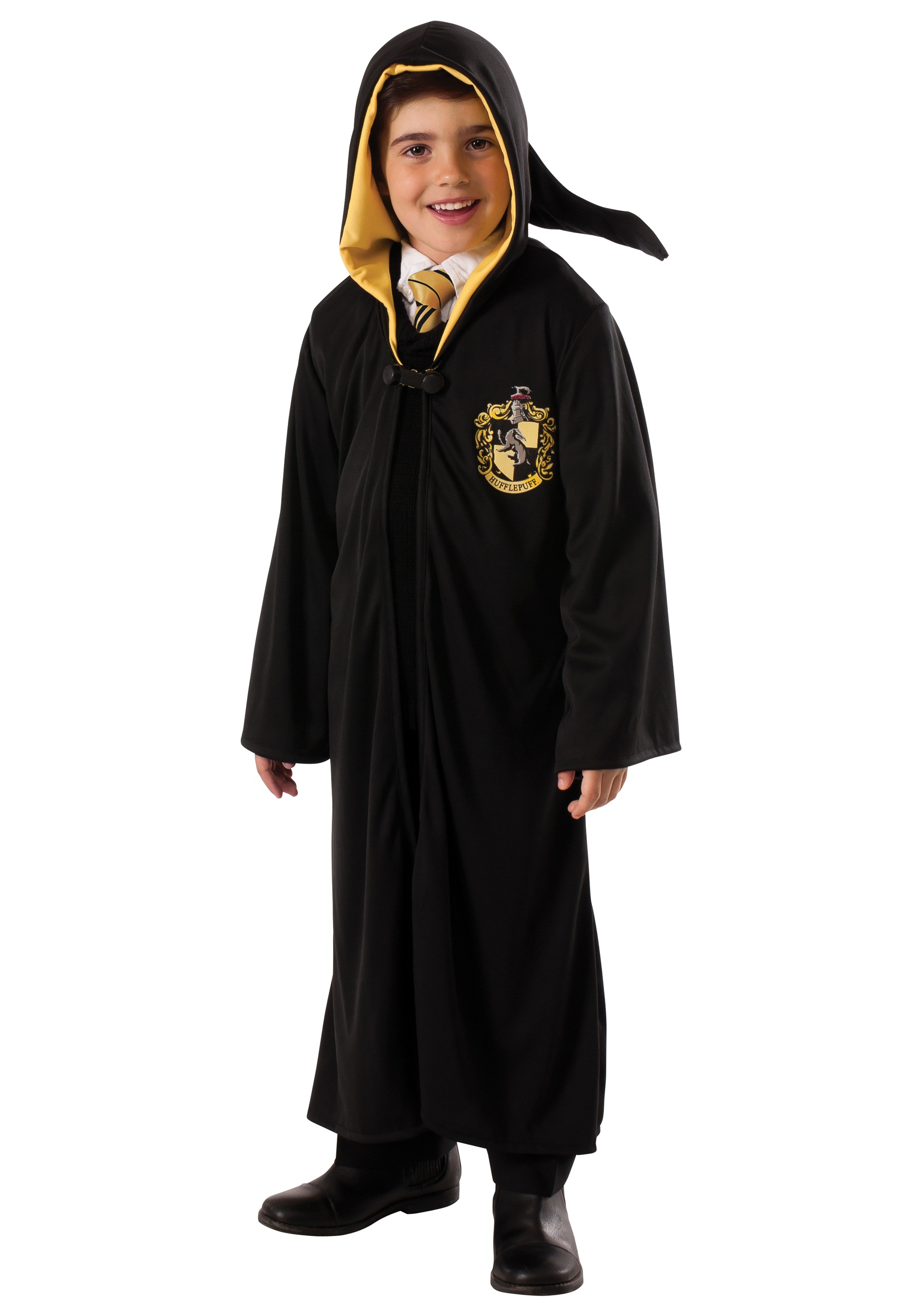 child hufflepuff robe. Black Bedroom Furniture Sets. Home Design Ideas