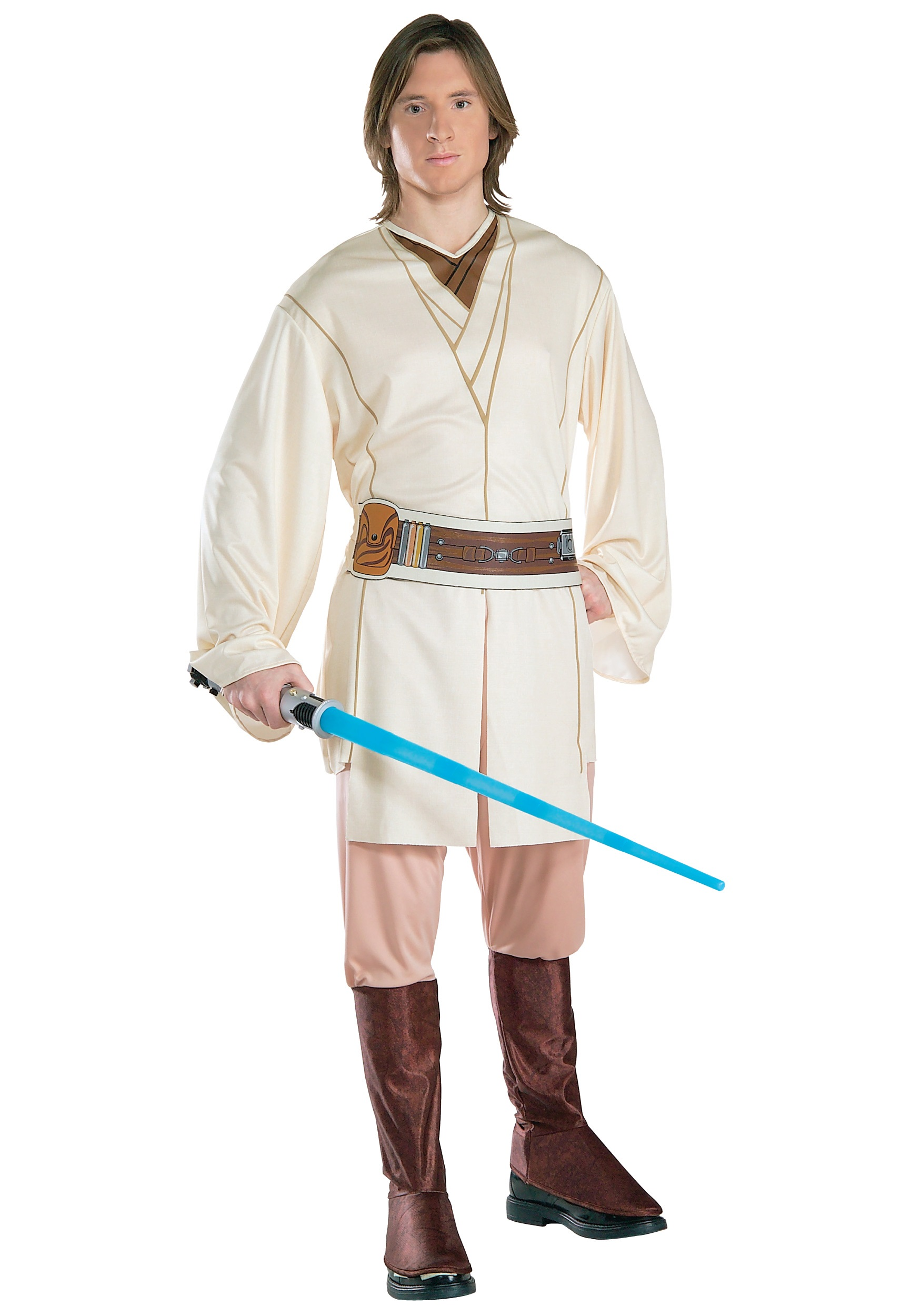 Adult Obi-Wan Kenobi Costume  sc 1 st  Halloween Costumes & Obi Wan Kenobi Costumes - Adult Child Kids Star Wars Halloween Costume