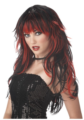 Women's Vampire Wig By: California Costume Collection for the 2015 Costume season.