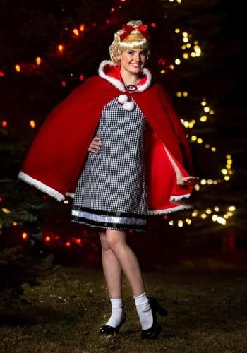 Women's Christmas Girl Costume 1