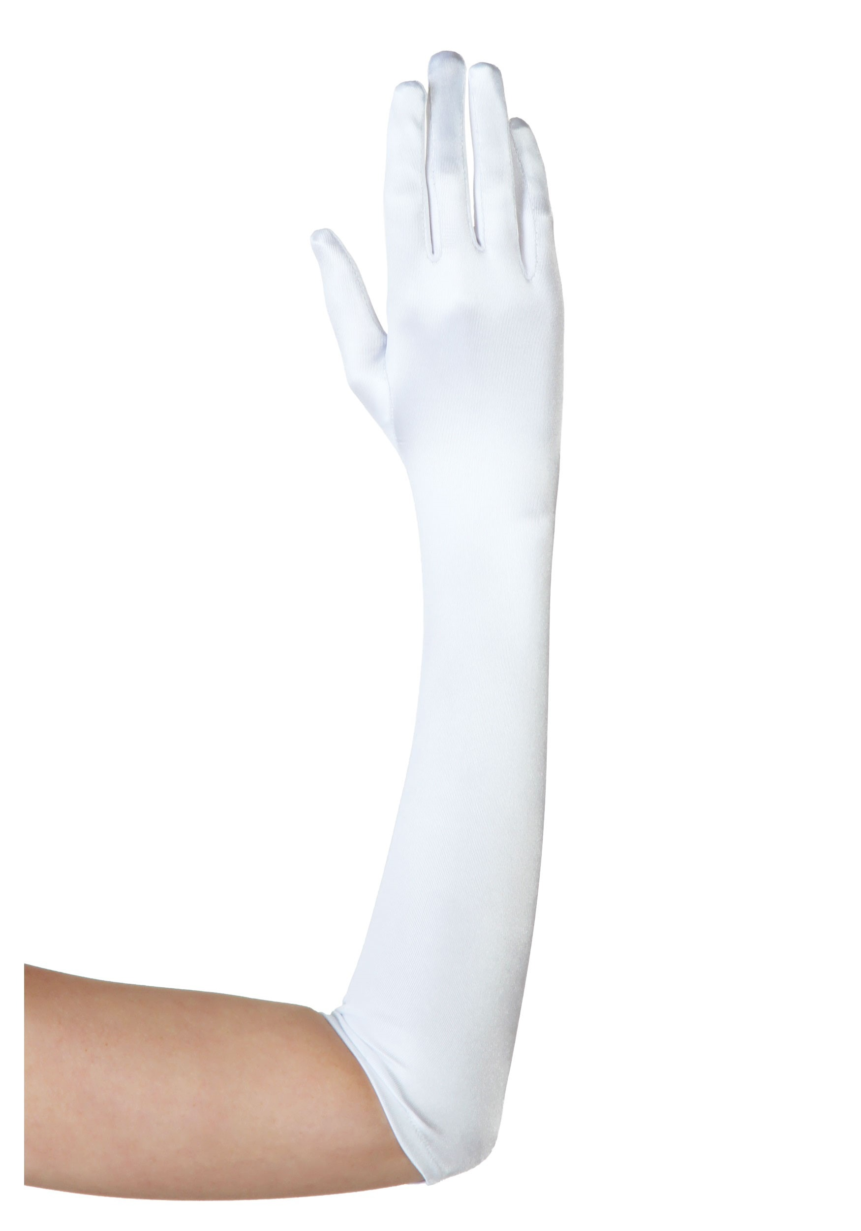 Plus White Gloves