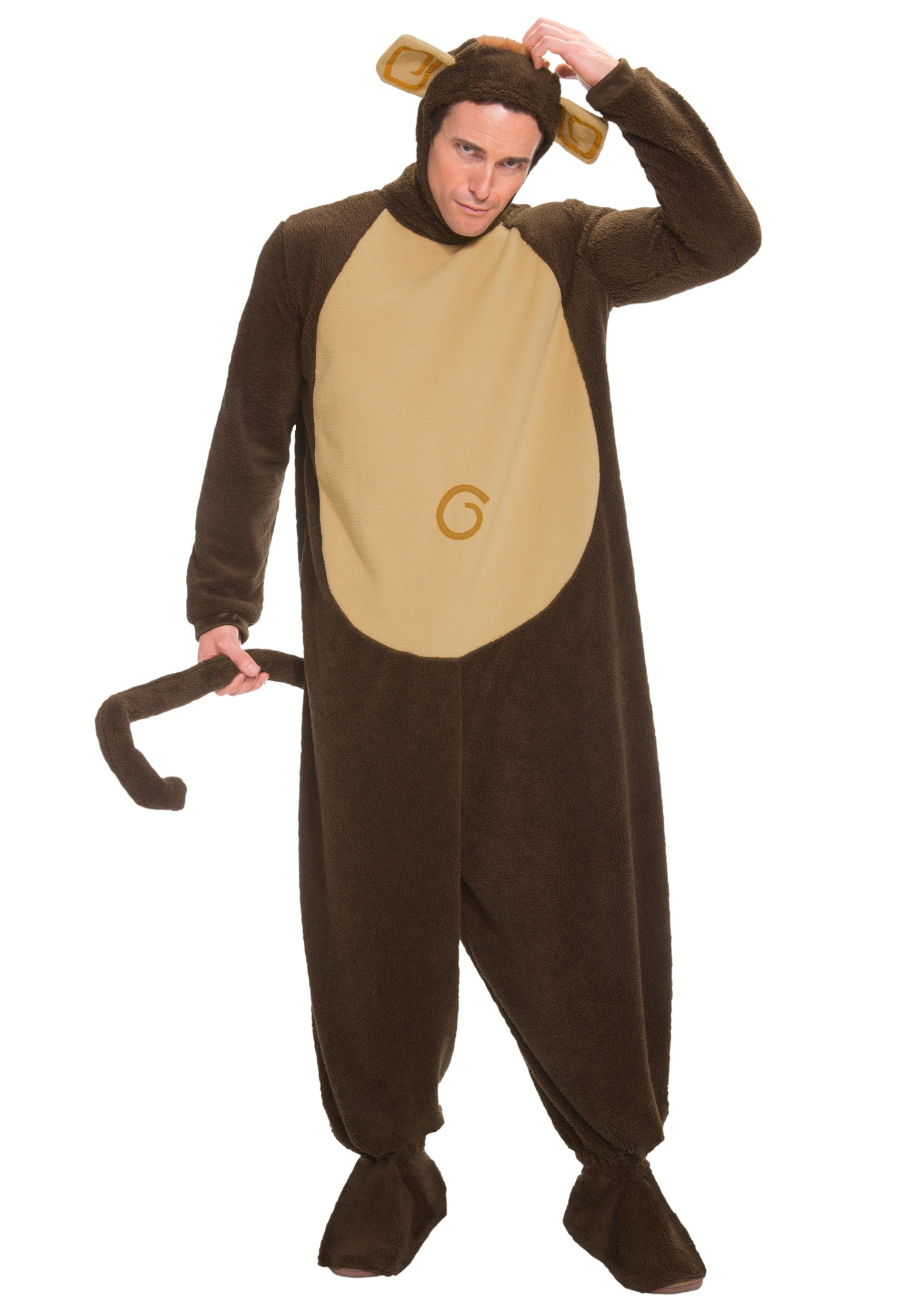 Adult Monkey Costume-2535